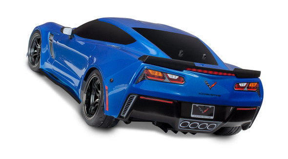 Traxxas 8386X Chevrolet Corvette Z06 Blue Painted Body Decals Applied : 4-Tec / Ford GT