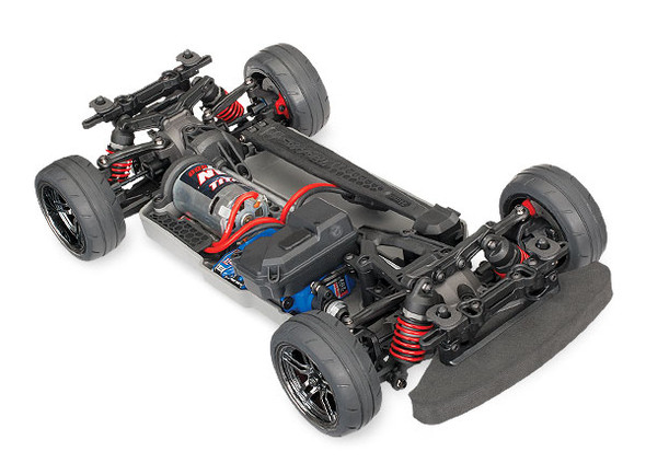 Traxxas 8391 Clear Cadillac CTS-V Body Requires Painting w/Decal Sheet: 4-Tec 2.0