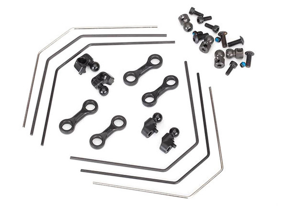 Traxxas 8398 Sway Bar Kit Front & Rear : 4-Tec 2.0 / Ford GT / Ford Mustang GT