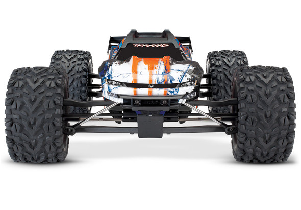 Traxxas 1/10 E-Revo VXL 2.0 4WD Brushless Monster Truck RTR Orng w/TQi Radio/TSM