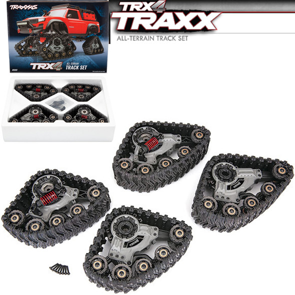 Traxxas 8880 TRX4 TRAXX All Terrain Track Set : TRX-4