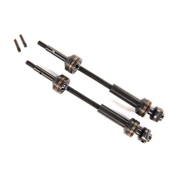 Traxxas 9052X Complete Assembly Rear Steel-Spline Constant-Velocity Driveshafts (2)