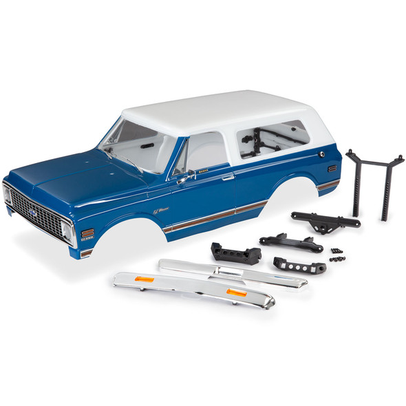 Traxxas 9111X K/5 1972 Chevrolet Blazer Blue Body Kit : TRX-4