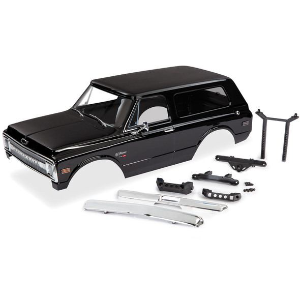 Traxxas 9112X K/5 1969 Chevrolet Blazer Black Body Kit : TRX-4