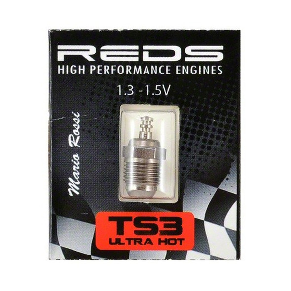 Reds Racing TS3 1.3 - 1.5V Glow Plug Turbo Special Ultra Hot - NEW