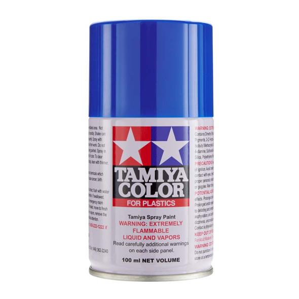 Tamiya TS-93 Pure Blue Lacquer Paint Spray 3oz (100ml) for Plastics