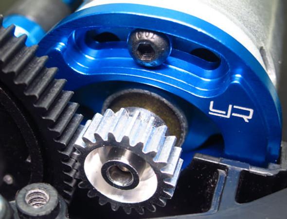 Yeah Racing TT02-013BU Alum Adjustable Motor Mount : Tamiya TT02/TT02S/TT02B