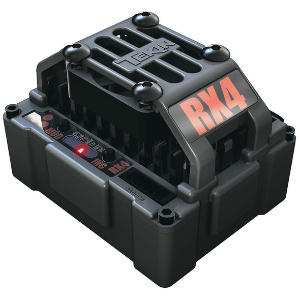 Tekin TT2000 RX4 Hardbox WP Sensored/Sensorless D2 BL Waterproof ESC Speed Control