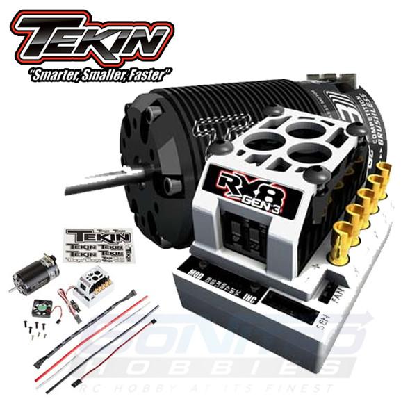 Tekin TT2479 1/8 RX8 Gen3 ESC 4030 T8 Gen2 Motor 2Y 1400kV Combo
