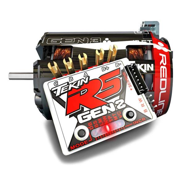 Tekin TT2737 Gen3 Brushless Sensored 9.5T Motor & RS Gen2 Brushless ESC
