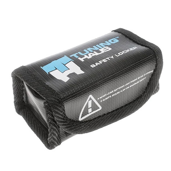 Tuning Haus TUH1003 1S or 2S Shorty Lipo Safety Storage Battery Bag