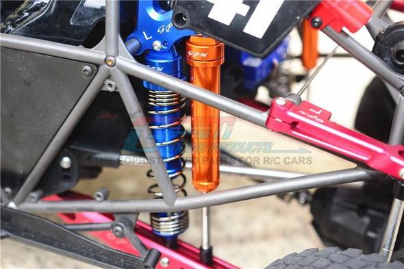 GPM Racing Aluminium Rear Internal Shocks 160mm Grey : Unlimited Desert Racer