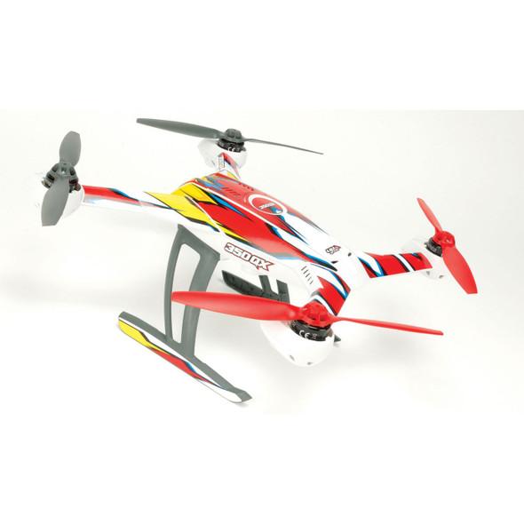 Upgrade RC UPG7100 Macro Red / Yellow Skin Blade 350 QX