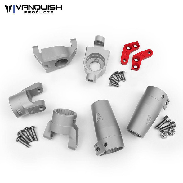 Vanquish VPS06510 Stage One Kit Silver Axial Wraith