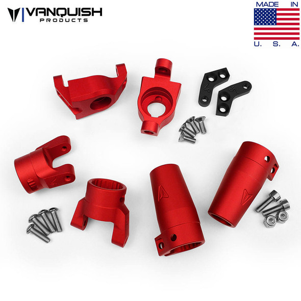 Vanquish VPS06513 Stage One Kit Red Axial Wraith