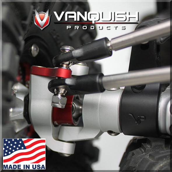 Vanquish VPS06514 Orange Anodized Stage One Kit Axial Wraith