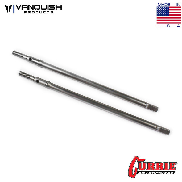 Vanquish Currie Rockjock XR10 Rear Axle Clear Anodized VPS07565 Custom Vehicles