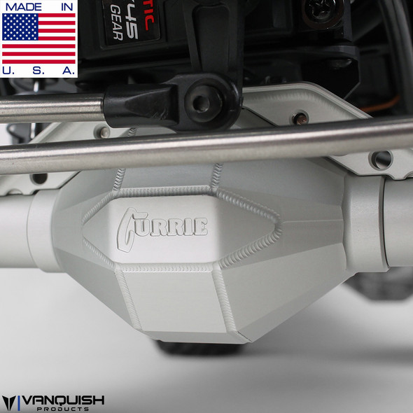 Vanquish VPS07830 Aluminum Front Currie F9 Axle Clear Axial SCX10