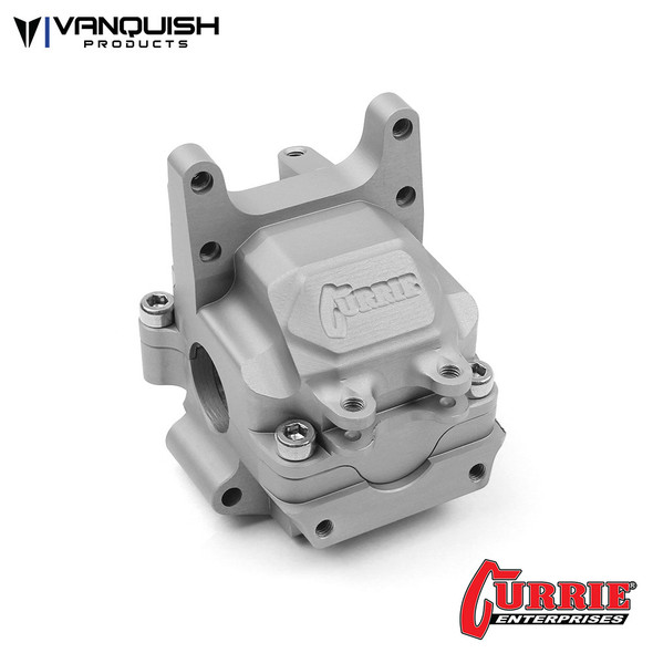 Vanquish VPS07901 Currie F9 Front Aluminum Bulkhead Clear Anodized : Axial Yeti