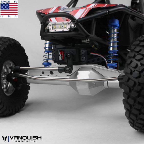 Vanquish Black Anodized Currie F9 Front Axle AR60 Axial Wraith / RR10 Bomber