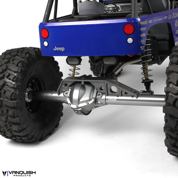 Vanquish Products Axial Wraith Rear Currie Axle Black Anodized