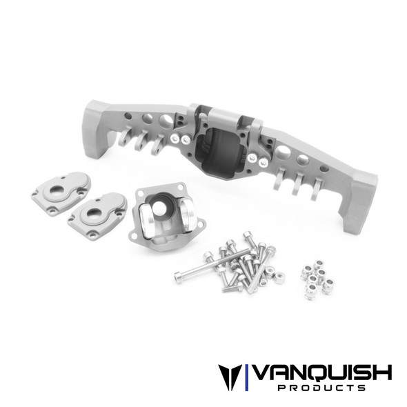 Vanquish VPS08493 Currie F9 Portal Offset Rear Axle Clear : Axial SCX10-III