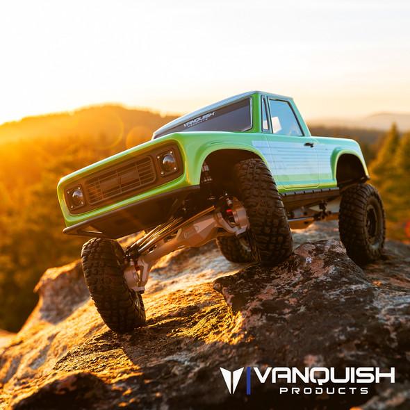 Vanquish VPS09005 VS4-10 1/10 Ultra Clear Anodized Off-Road Origin Halfcab Kit