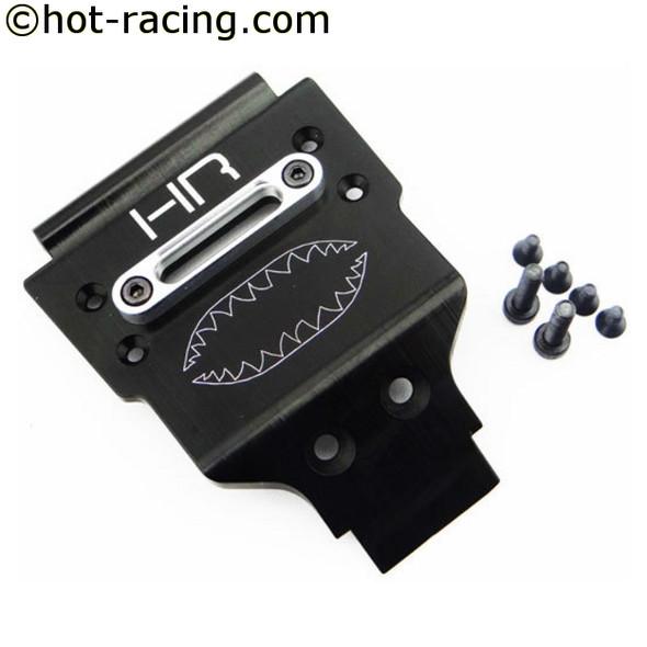 Hot Racing VTH331W01 Alum Front Skid Plate w/ Winch Fairlead : Vaterra Twin Hammers