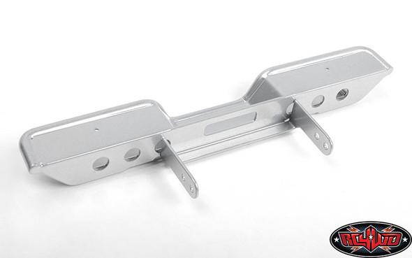RC4WD VVV-C0951 Oxer Steel Rear Bumper Silver : Vanquish VS4-10 Origin Body