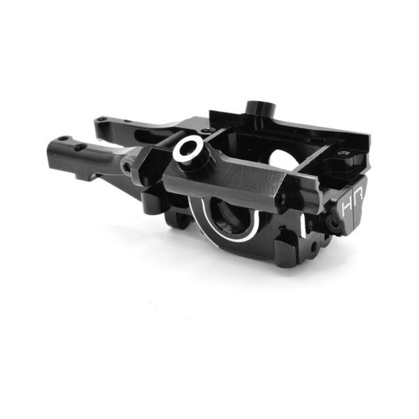 Hot Racing Black Aluminum Secure Lock Rear Bulkheads : 1/16 E-Revo VXL