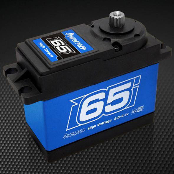 POWER HD WH-65KG 1/5 1/6 Waterproof 902.7 oz/in Torque Copper/Steel Gear Servo