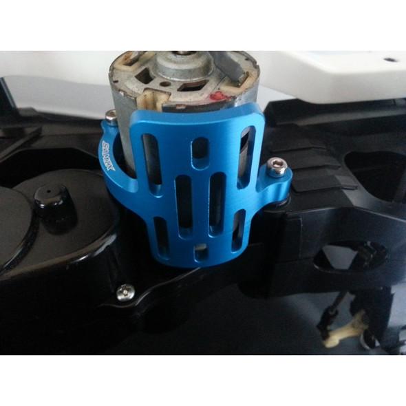 SAMIX WW-6030BU Tamiya Wild Willy WR-02 One Piece Motor Guard Blue
