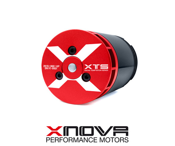 Xnova 2618-1580KV 10P (shaft B) 3mm Brushless Motor 320-360mm Bladesize Heli