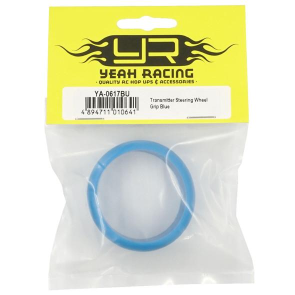 Yeah Racing YA-0617BU Transmitter Steering Wheel Grip Blue