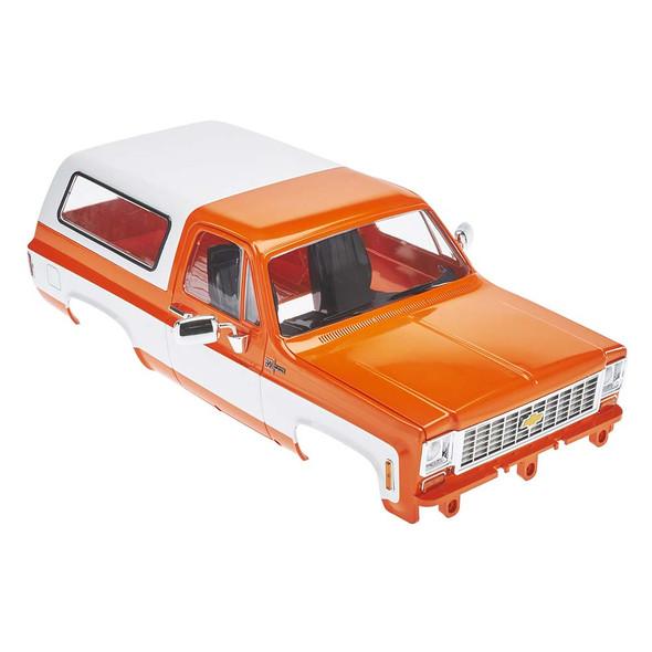 RC4WD Chevrolet Blazer Hard Body Complete Set Orange Z-B0146