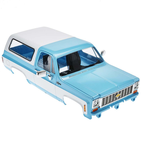 RC4WD Chevy Blazer Hard Body Complete Set Light Blue Z-B0148