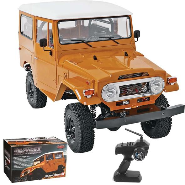 RC4WD  Z-RTR0029 1/10 Gelande II Truck w/ Cruiser Body Set 4WD RTR + Radio