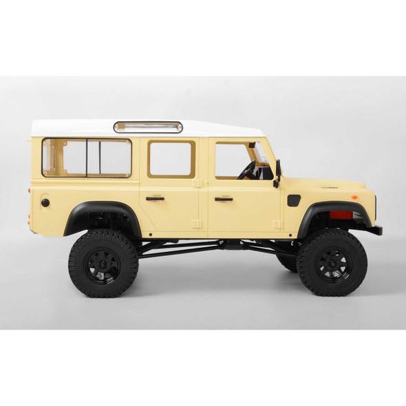 RC4WD Z-RTR0032 1/10 Gelande II LWB 4WD Truck Brushed RTR, D110 Body