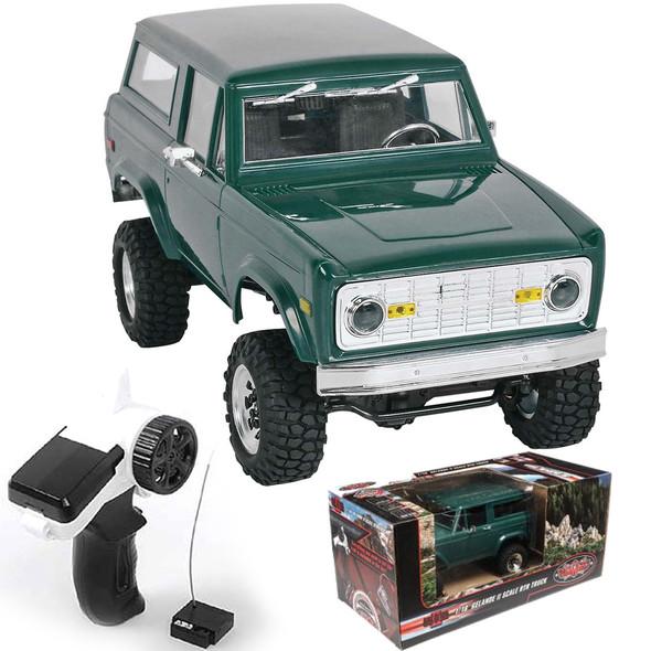 RC4WD 1/18 Gelande II Truck RTR w/ BlackJack Body Set Z-RTR0036