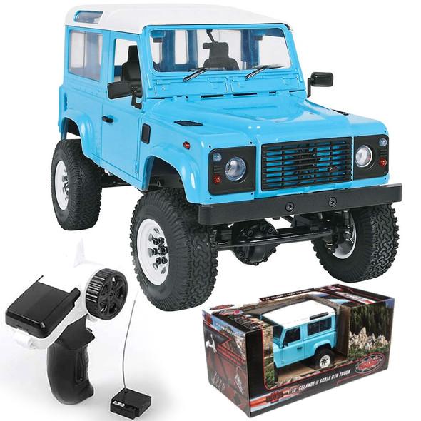 RC4WD 1/18 Gelande II Truck RTR w/ D90 Body Set Blue Z-RTR0039
