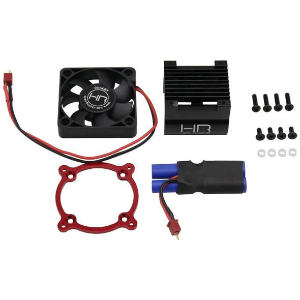 Hot Racing AON505F02 6 Cell Monster Blower Motor Cooling Fan Kit : Arrma 1/8
