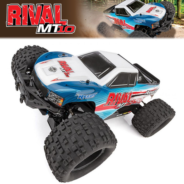 Associated 20516C RIVAL MT10 1/10 Monster Truck Brushless 4WD RTR w/ Battery/Charger