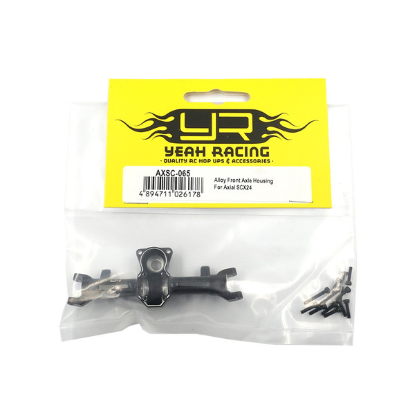 Yeah Racing AXSC-065 Alloy Front Axle Housing : Axial SCX24