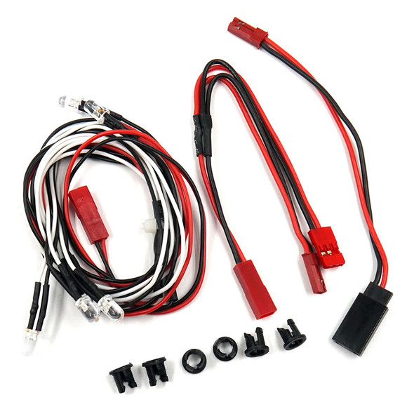 Yeah Racing LK-0001WR Ultra Bright Front & Rear LED Light Kit : 1/10 EP & GP