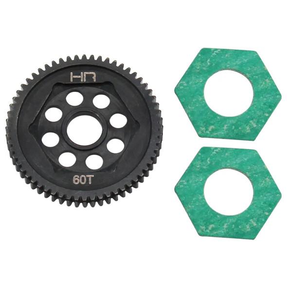 Hot Racing SMTT60M05 Steel Spur Gear 60T 0.5M : Mini-T 2.0