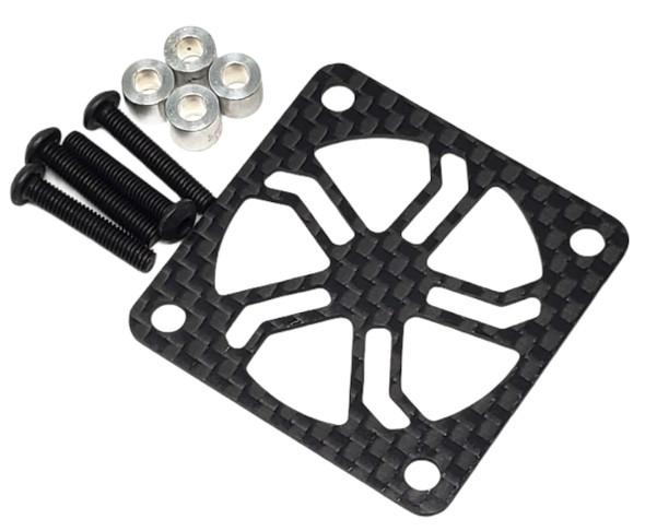 NHX 40X40mm Carbon Fiber Fan Guard / Cover with Screws