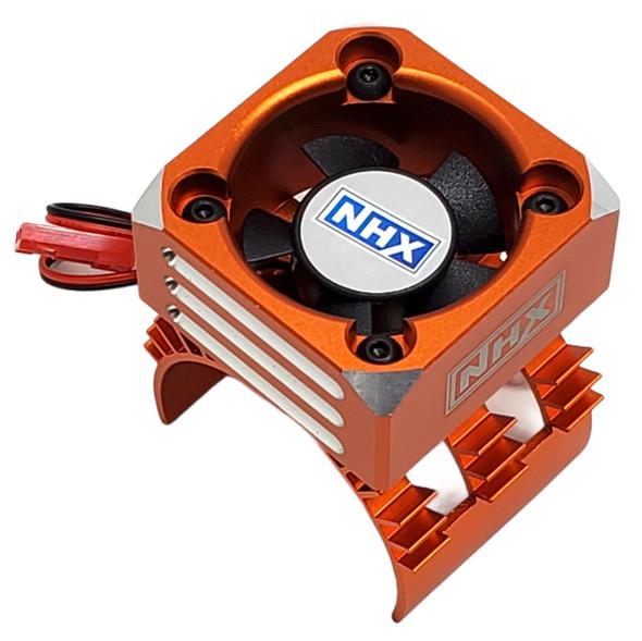 NHX 30mm Alum Case Cyclone Cooling Turbo 1/10 Motor Fan Orange
