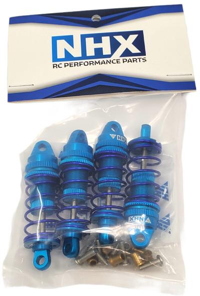 NHX RC Adjustable Aluminum Shocks / Damper for 1/10 RC Touring Car Blue 4pc : 4-TEC / RS4