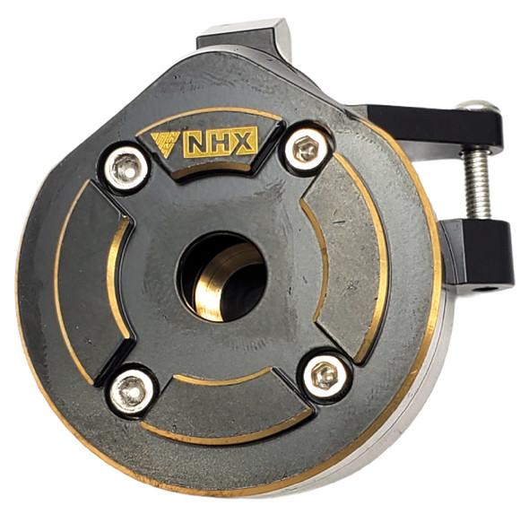 NHX Brass Heavy Duty Steering Knuckle w/ Covers: Axial Capra1.9 UTB / SCX10 III