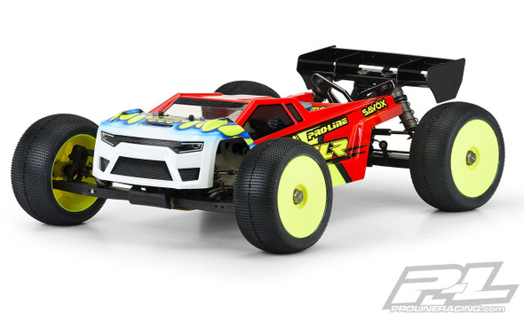 Pro-Line 3571-00 Axis T Clear Body : 8ight-XT & 8ight-XTE